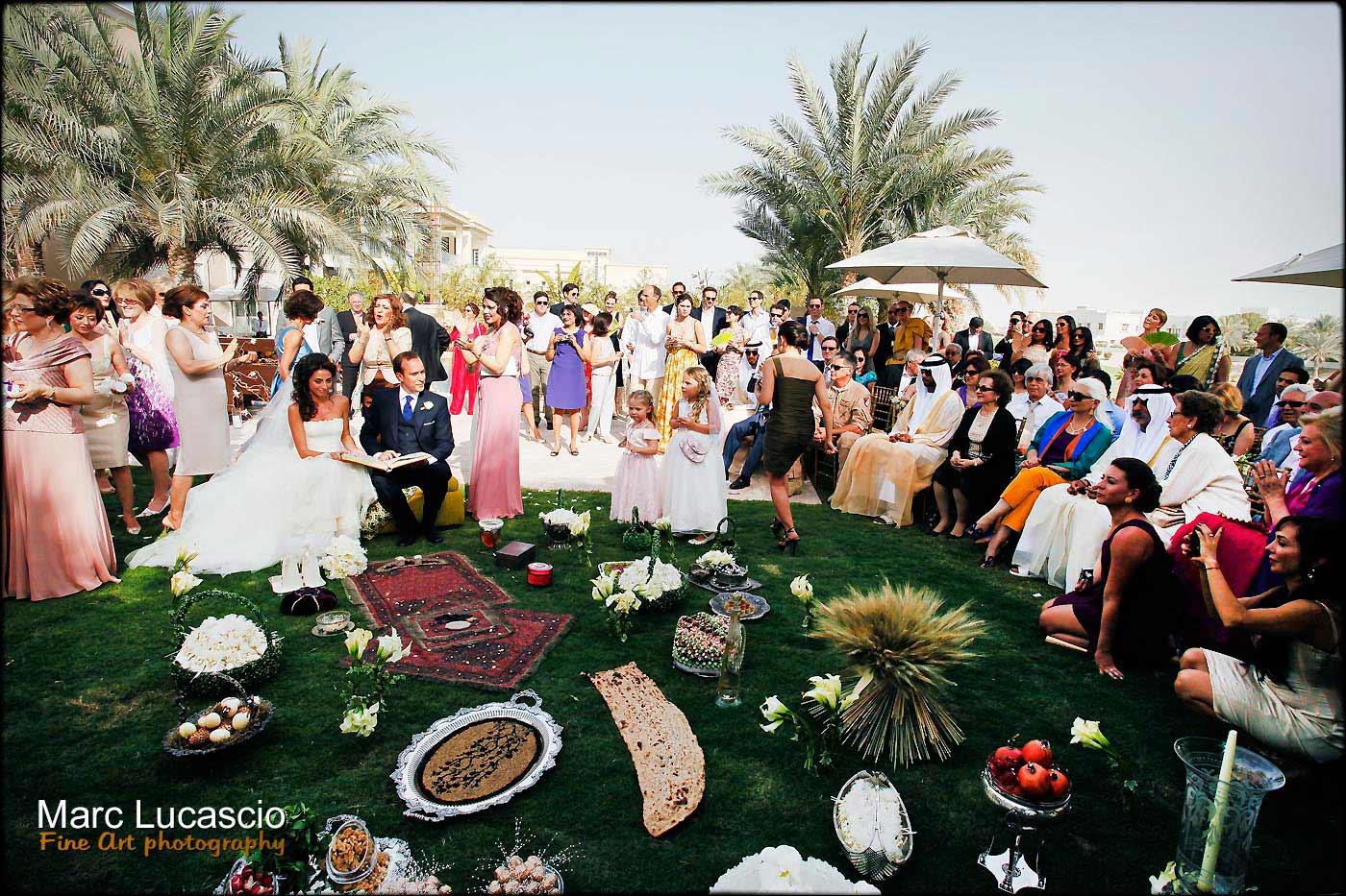 Célébration mariage iranien