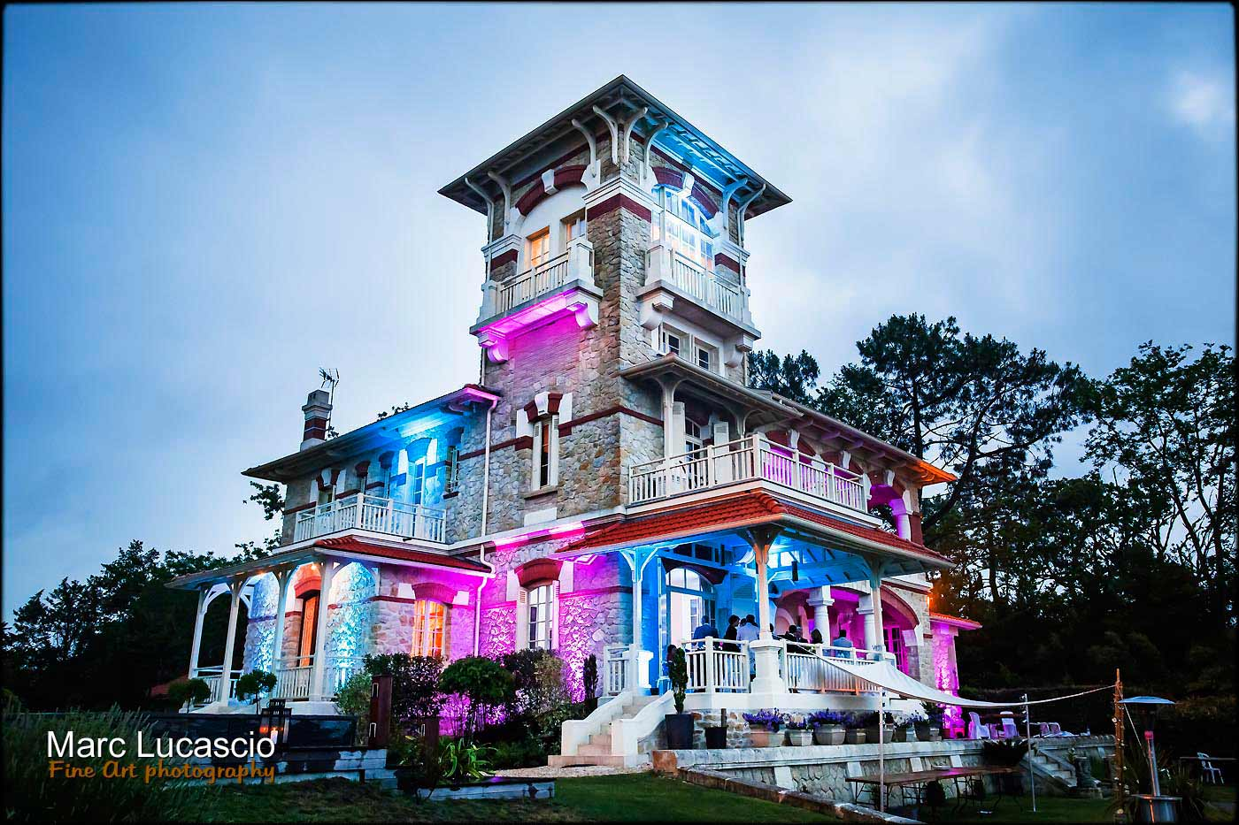 château mariage lanton