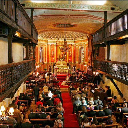 Eglise dans le pays basque