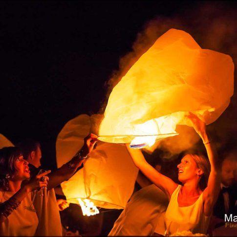 Soirée lanterne maqique