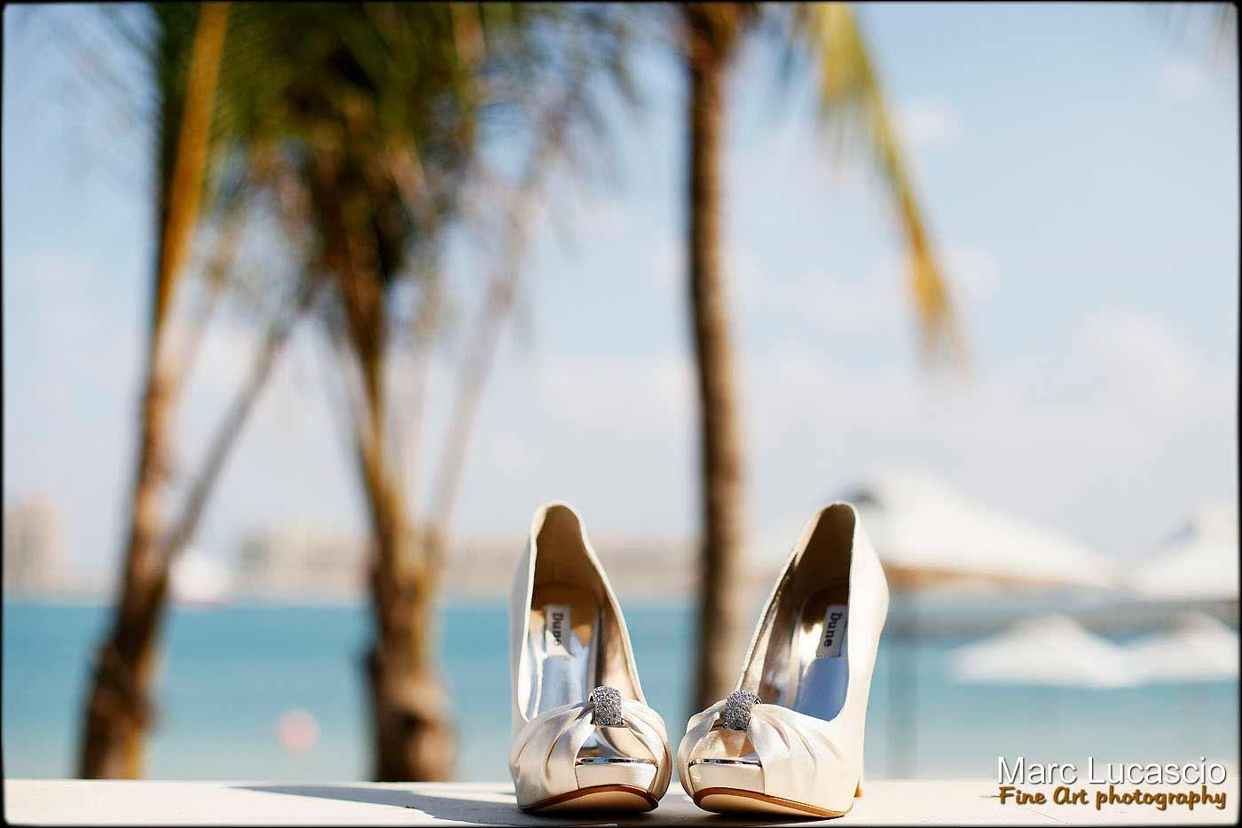 Les chaussures du mariage