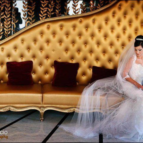 portrait de la mariée au Fouquet's