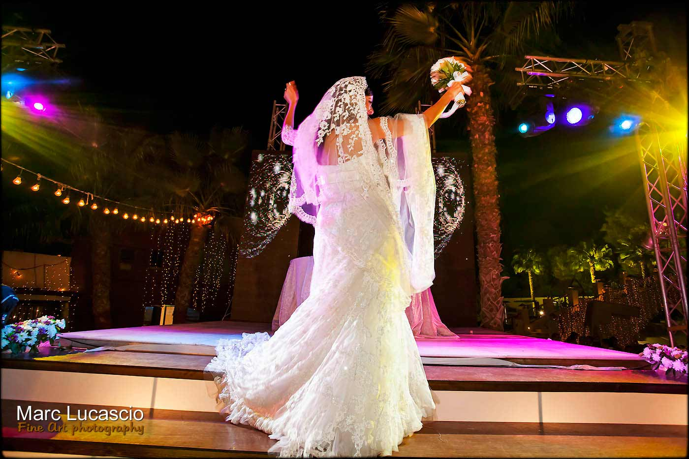 mariée piste de danse soirée
