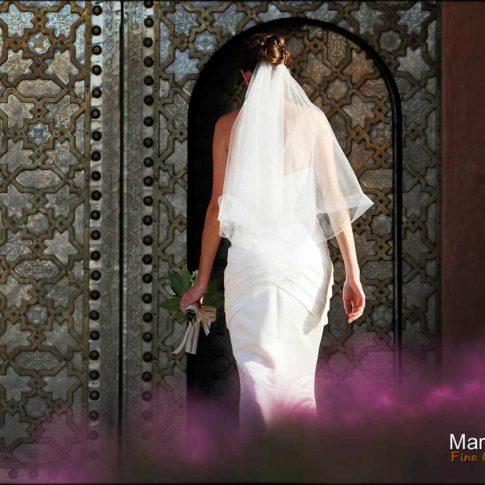 Portrait mariée à Marrakech