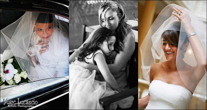 photos de mariage émotions