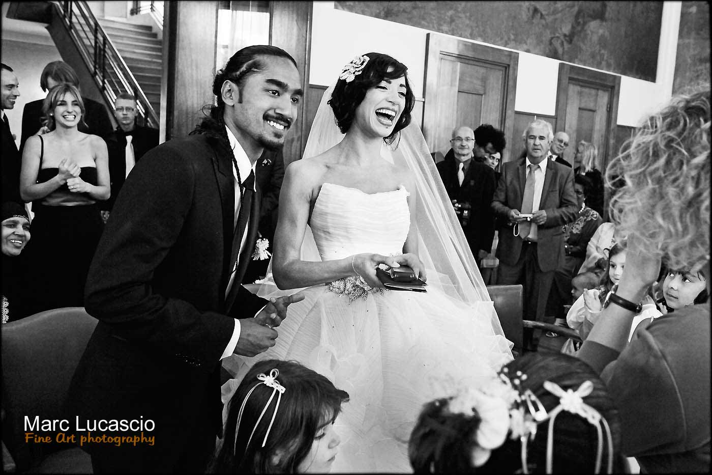 Mariage civil à la mairie