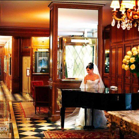 salle de mariage du Crillon