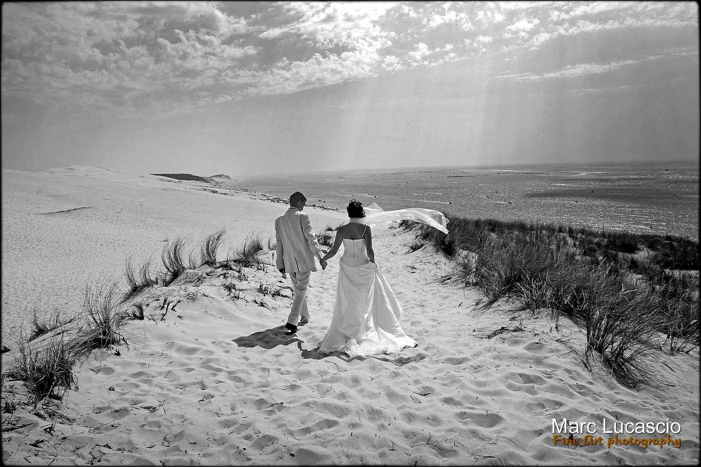 Séance couple dune du Pyla