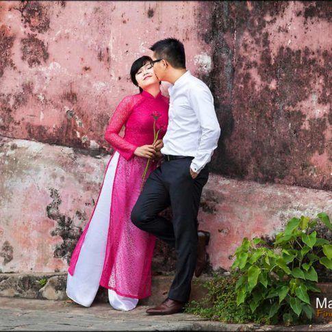 photographie de couple mariage au Vietnam
