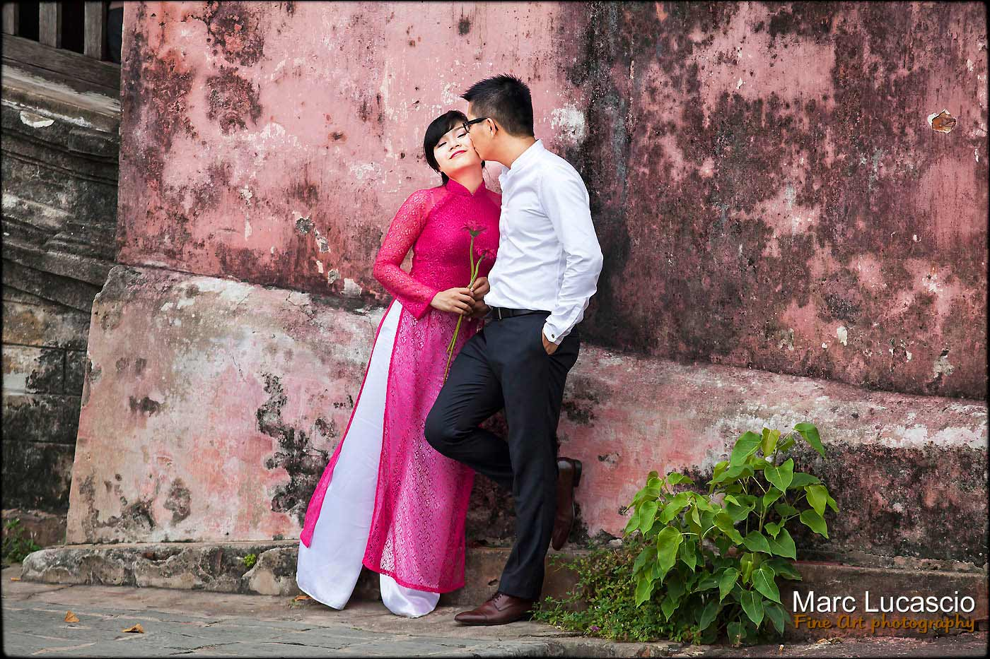 photographie de couple au Vietnam