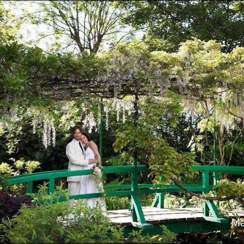 photo de couple à Giverny