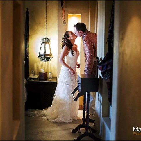 Photo préparation mariage hôtel Bab al Shams