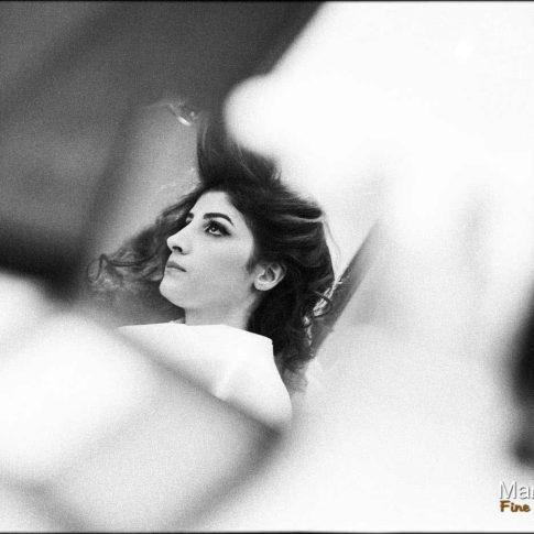 La mariée se fait coiffer au Caire