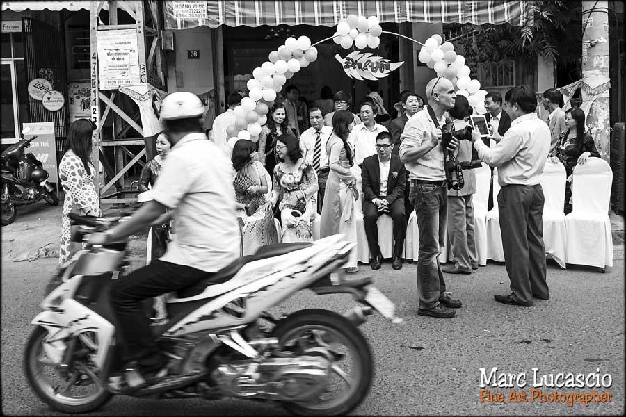 Marc lucascio en reportage mariage au Vietnam