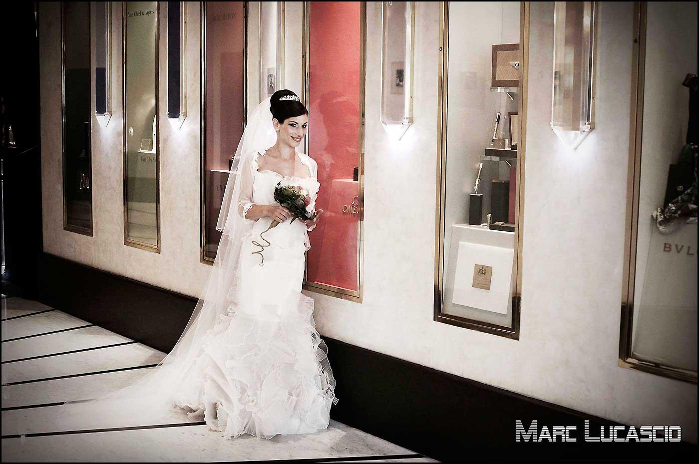Un décor adapté à la robe de mariage pour ce mariage juif