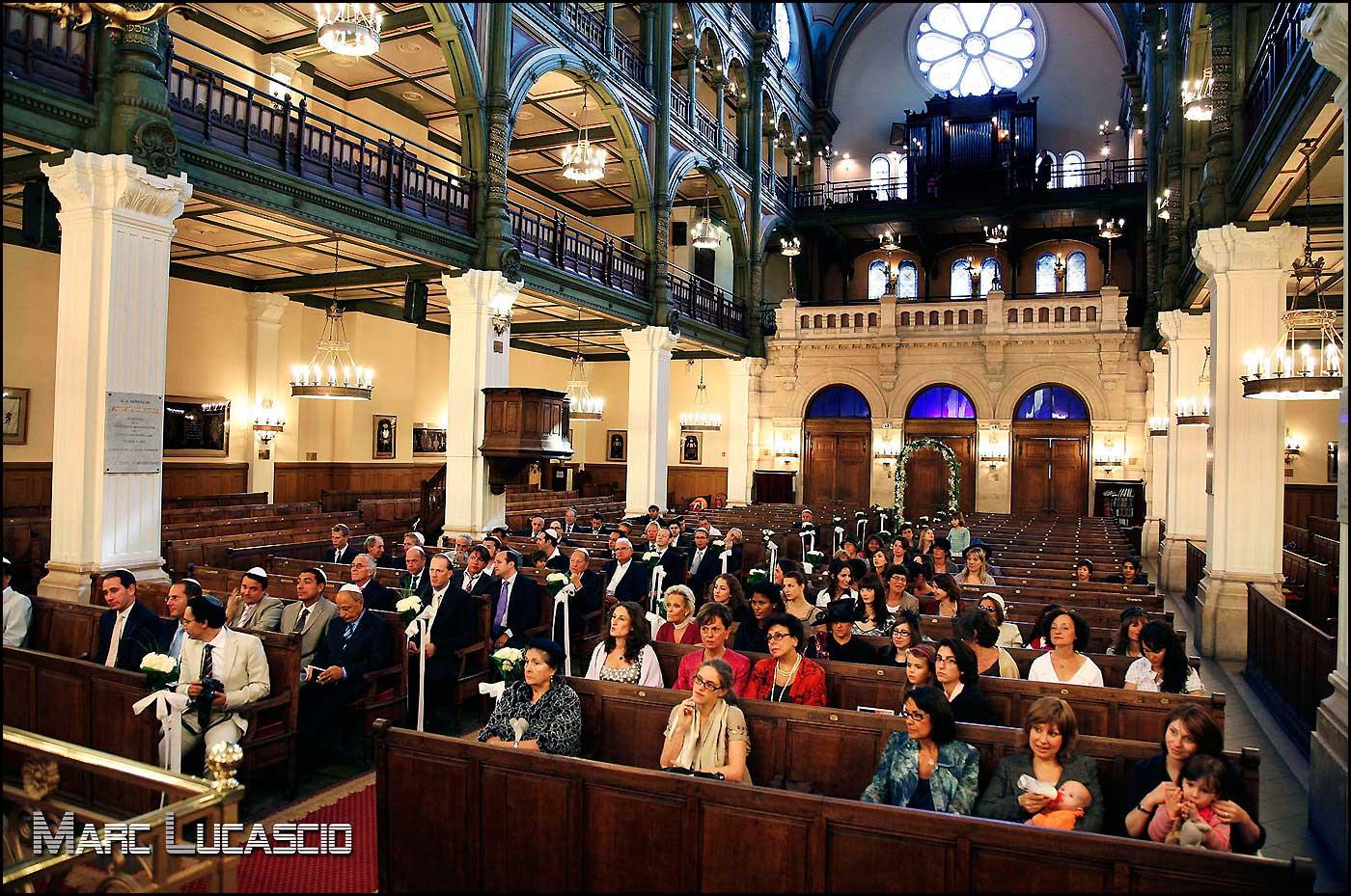 synagogue des tournelles à Paris