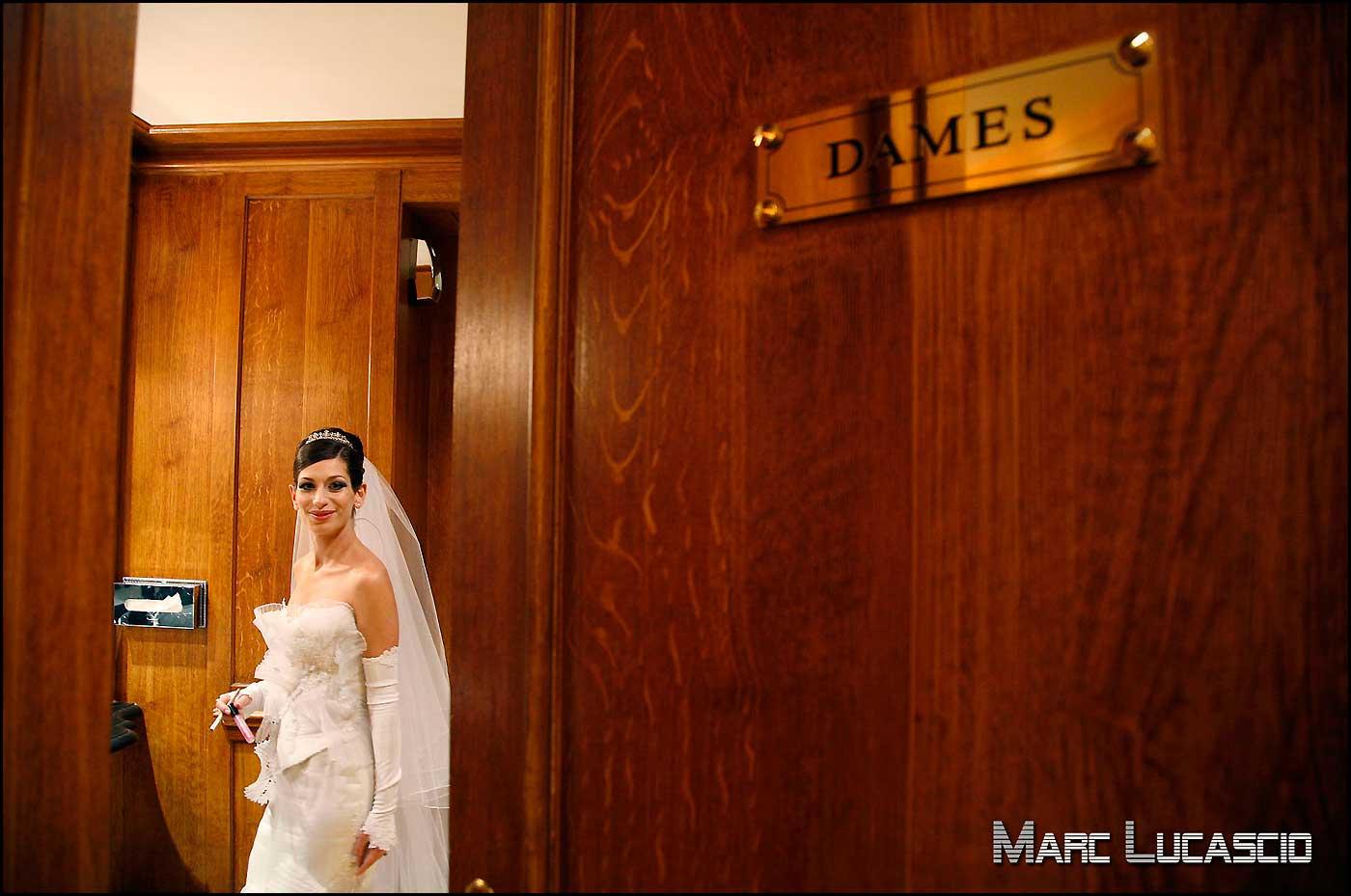 Maquillage de la mariée juive