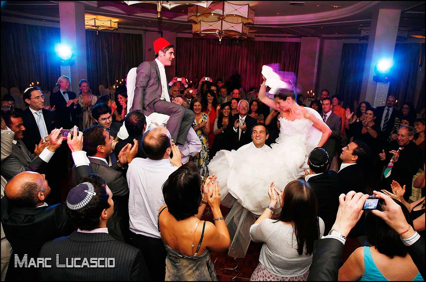 traditionnelles chaises mariages juives