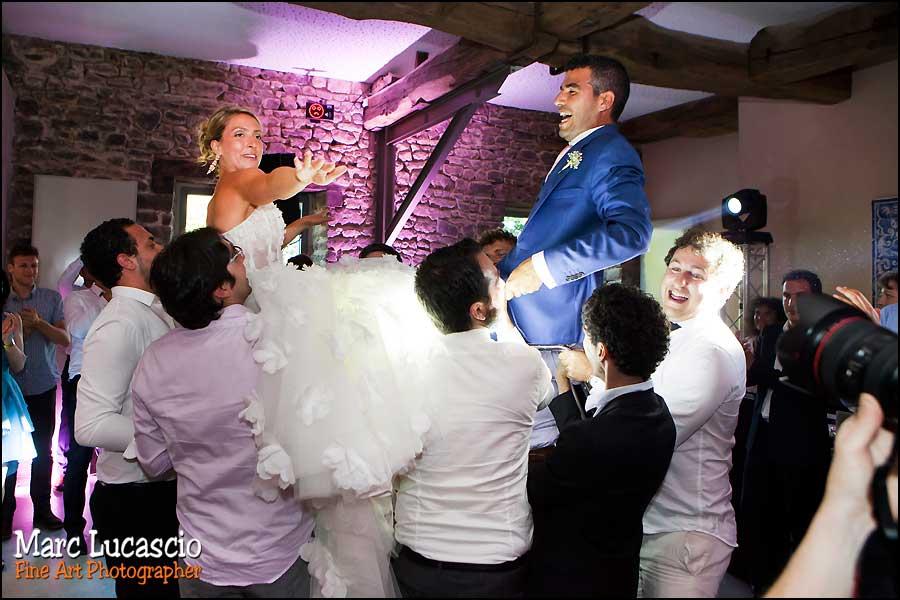 chaises mariage juif en Normandie
