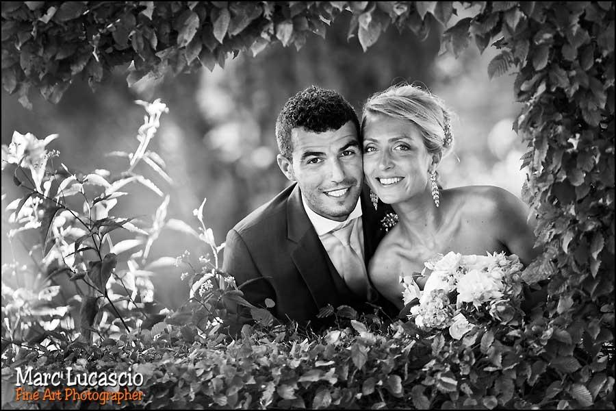 Portrait mariage juif fleurs