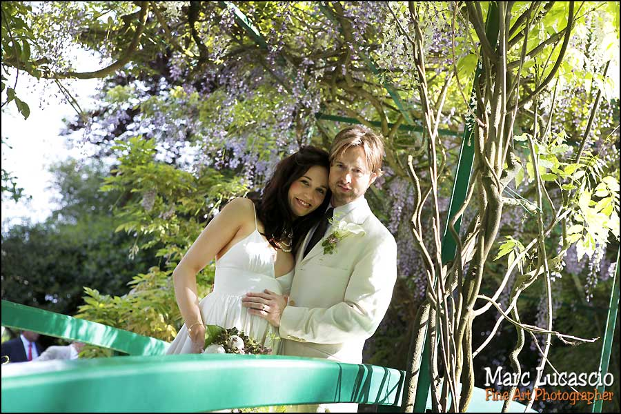 mariage Giverny photo de couple