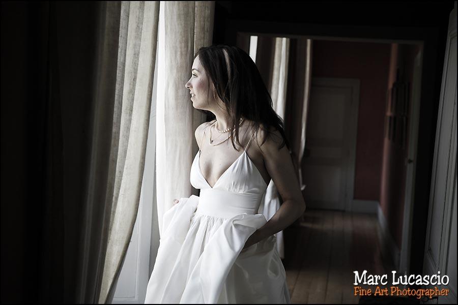 Préparation mariée à Giverny