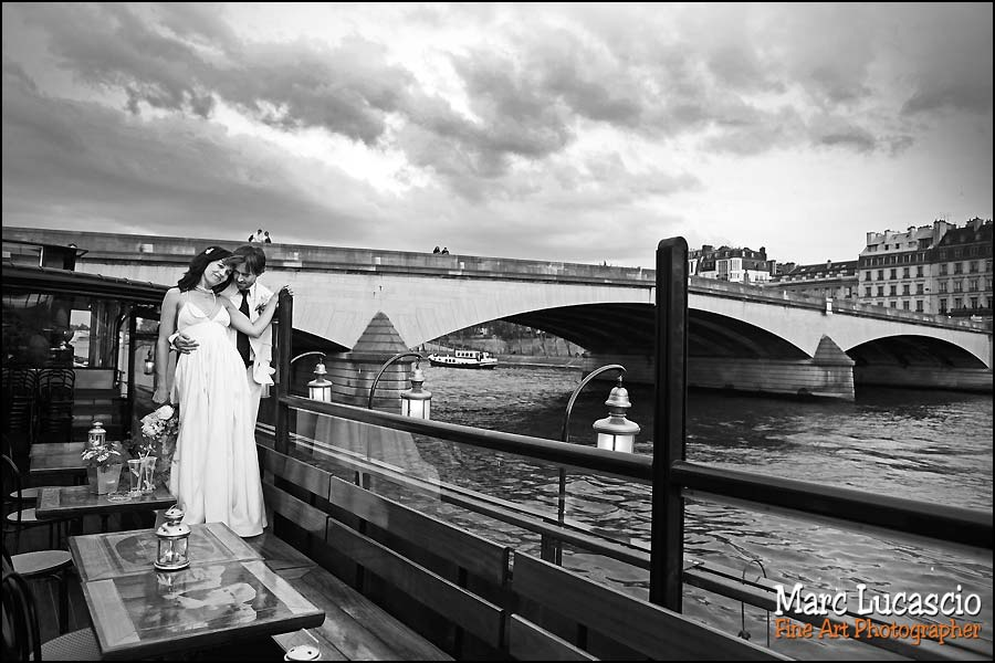 Photo de couple mariage à Paris
