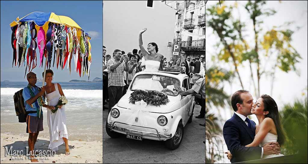 Photographies de mariage en Normandie insolites et originales