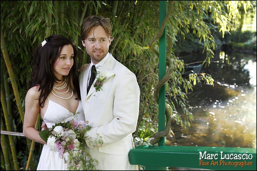 photographe mariage Giverny ville du peintre Monet