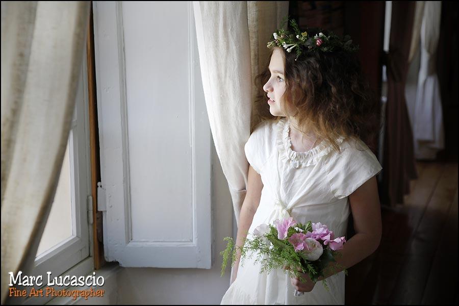Préparation du mariage à Giverny