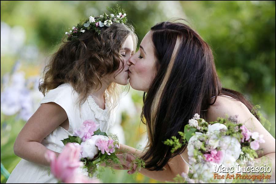 photo enfant mariage giverny