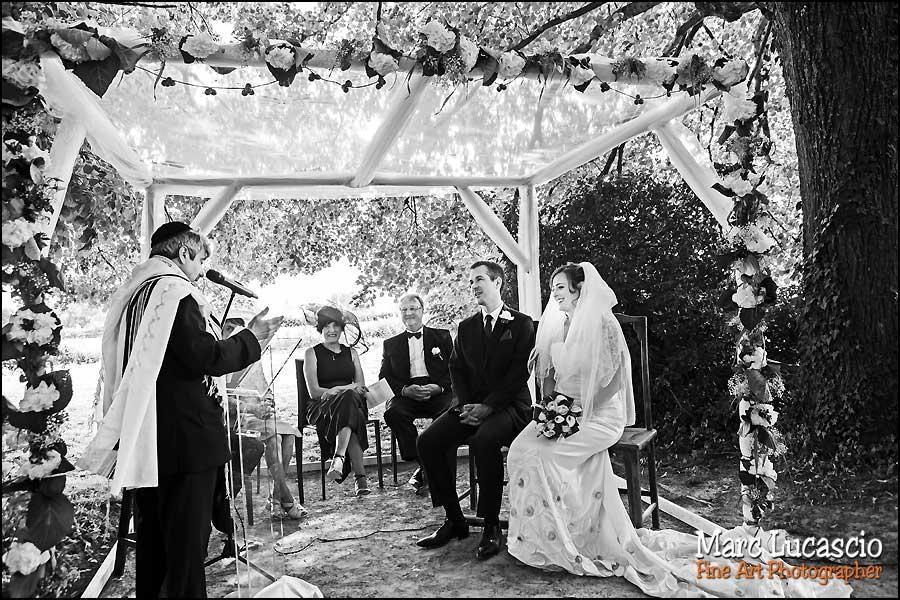 Cérémonie mariage juif champêtre à Quincampoix