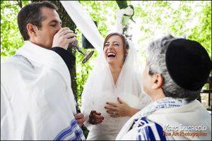 mariage juif en extérieur