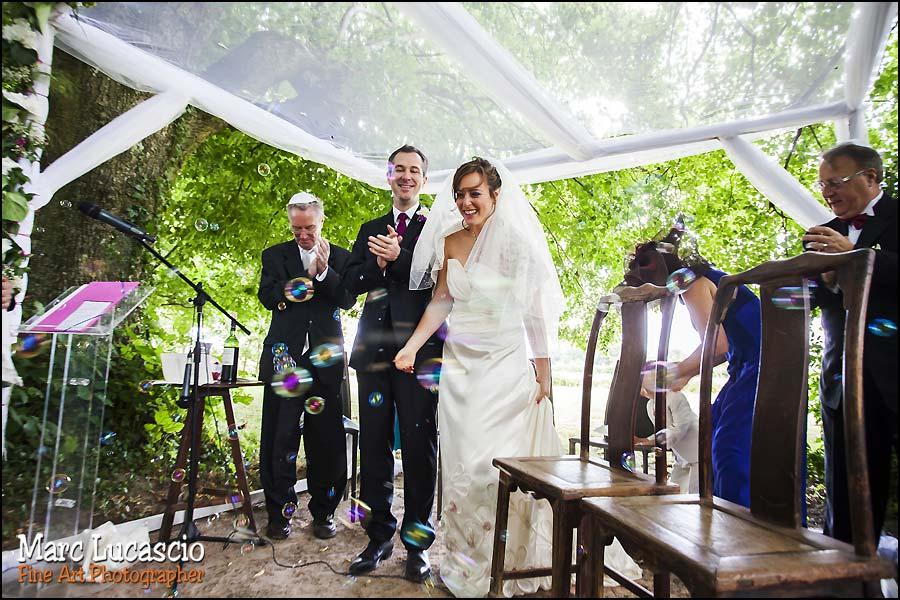 photos mariage juif champêtre au domaine de Quincampoix