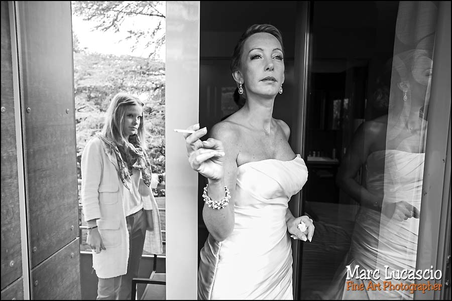 Préparatifs du mariage à Rueil Malmaison à l' Orangerie de Malmaison.