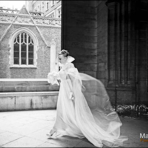 Mariage à l'église américaine de Paris