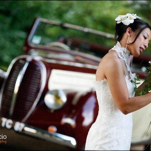 Photo de portrait de la mariée
