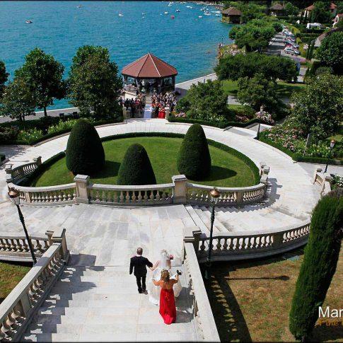Mariage à l'hôtel de Menthon