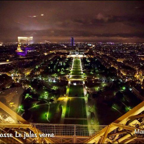 Mariage chez Ducasse Tour Eiffel
