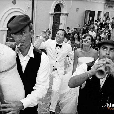 photo mariage à l'italienne