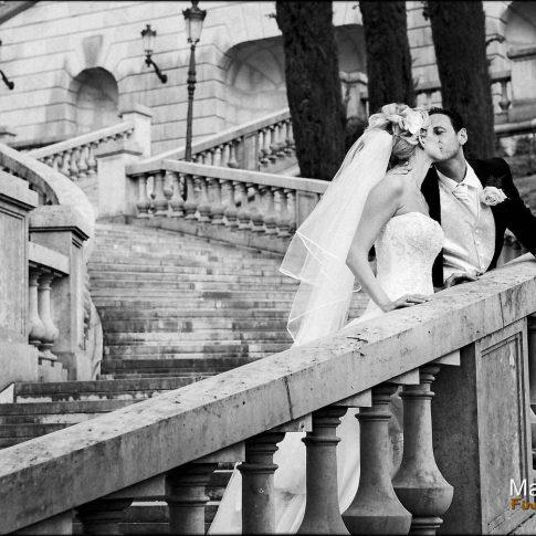 Photo mariage à menthon lac d'annecy