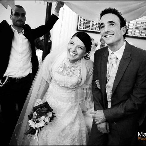 Photo mariage juif sous la houppa