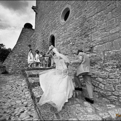 Mariage venté dans le sud de la France