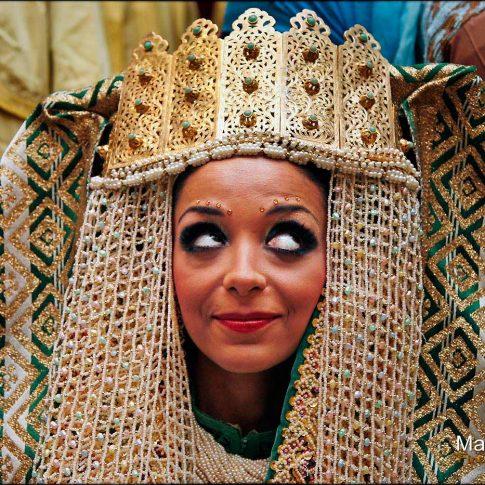 Mariage au Maroc d'une belle mariée
