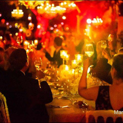 Repas de mariage à l'extérieur à Saint Jean Cap-Ferrat