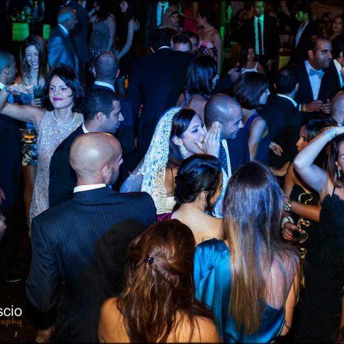 Piste de danse d'un mariage en Egypte