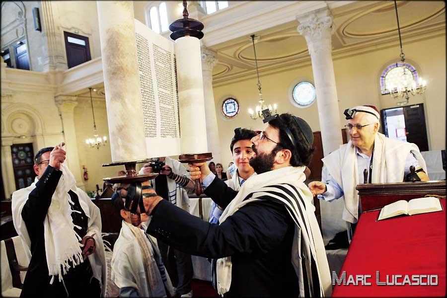 photo bar mitzvah ceremonie juive