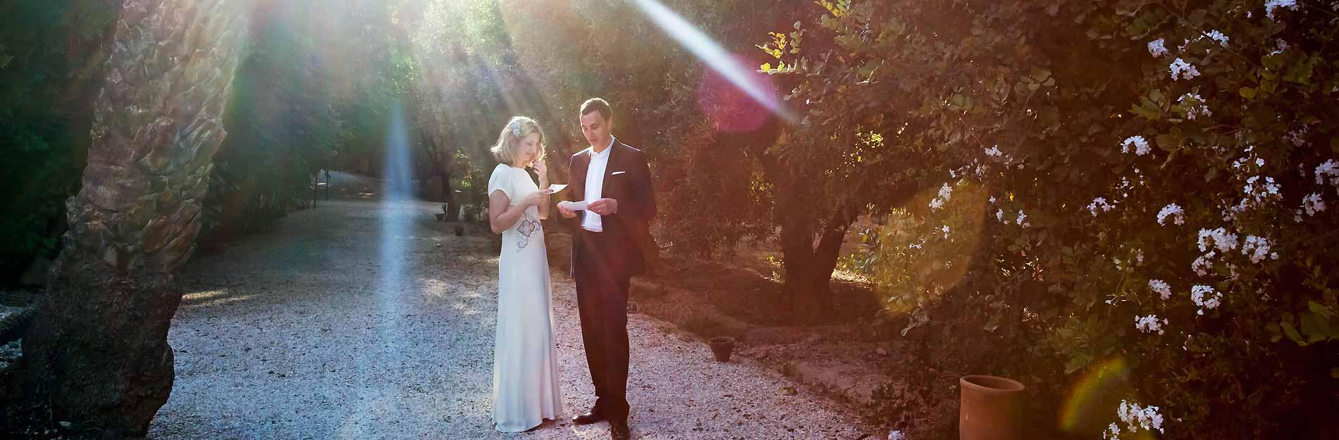 Reportage mariage Marrakech villa Jnane Tamsna