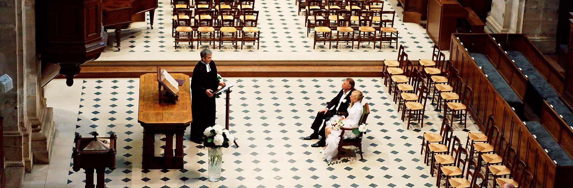 Photos mariage Oratoire du Louvre Paris